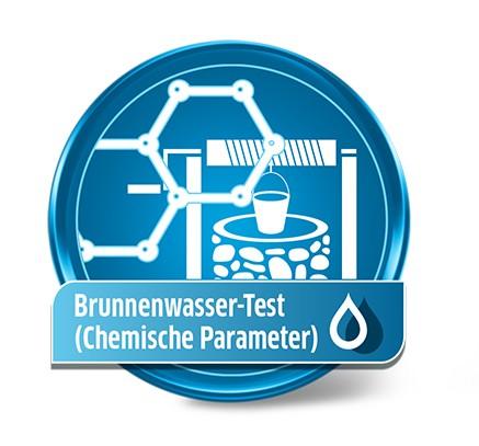 Brunnenwasseranalyse Chemisch